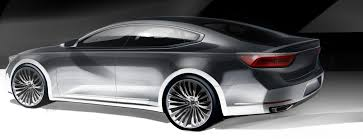 kia offers first look at second gen cadenza