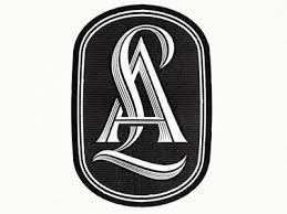 Create Monogram Initials 43 Best Monograms Images On Pinterest Monograms Typography