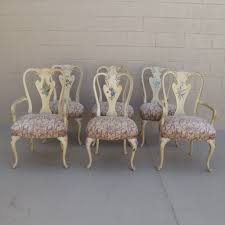 shabby chic dining room chairs home design ideas
