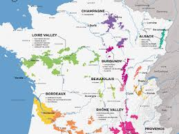 Map Of Napa Valley French Wine Exploration Map Wine Folly