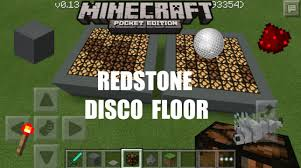 minecraft car pe minecraft pe how to make redstone disco floor 0 13 0 update