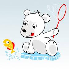 imagenes animadas oso vector de dibujos animados de oso polar descargar vectores premium