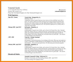 resume tutorial 6 google doc resume template applicationleter com
