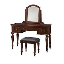 Levels Of Discovery Princess Vanity Table And Chair Set Home Styles Lafayette Vanity Set In Cherry Bed Bath U0026 Beyond