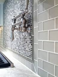 glass tile backsplash kitchen best 25 glass subway tile backsplash ideas on grey