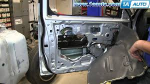 how to install replace inside door handle 2001 04 nissan frontier