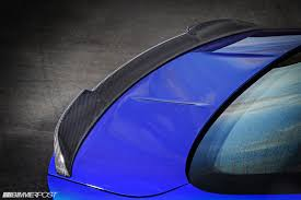 m4 cs rear deck spoiler for m2
