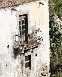 sicily italy photography balcony print rustic italian decor