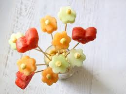 fruit flower arrangements fruit and kix flower bouquet for kix cereal