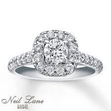 Neil Lane Wedding Rings by Kay Neil Lane Bridal Ring 1 1 8 Ct Tw Diamonds 14k White Gold