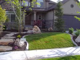modern house landscape design ideas seasons of home garden trellis