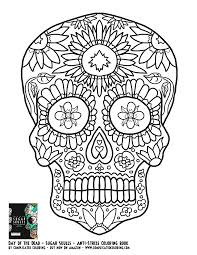 printable skull coloring pages coloring home