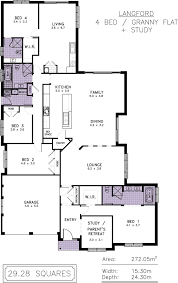 Granny Flat Floor Plans 1 Bedroom langford allworth homes the langford is resort style living at