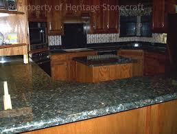 backsplash ideas for green granite countertops