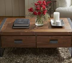 Industrial Coffee Table With Drawers Casa Pinterest
