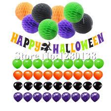Happy Halloween Banner by Aliexpress Com Buy Happy Halloween Banner Orange Black Purple