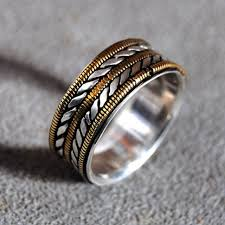 bullet wedding rings buy a crafted mens wedding ring with bronze guitar strings