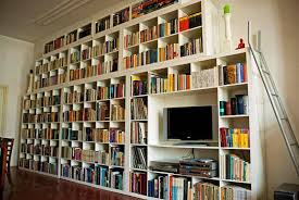 Whole Wall Bookshelves Hanging Wall Bookshelves Cadel Michele Home Ideas Wall