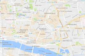 g00gle map why has maps started shading bits of cities orange brown