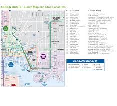 Green Line Metro Map by City To Launch Circulator Green Route Today Baltimore Sun