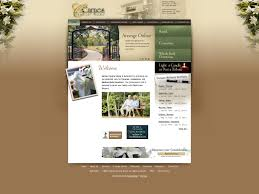 funeral home website design gooosen com