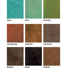 Basement Floor Stain by Concrete Stain Colors Sherwin Williams Stain Color Chart