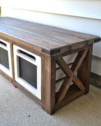 outdoor storage bench woodworking plans applara storage bench