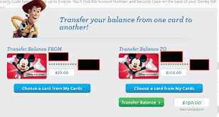 how to transfer disney gift cards to save money on disney tickets