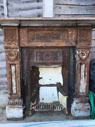 cast iron victorian fireplace in ilford london gumtree