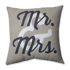 mr and mrs pillow mr and mrs pillows wayfair