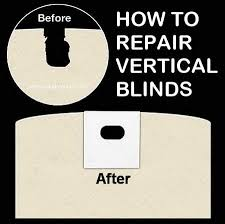 Window Blind Repairs How To Fix Vertical Blinds Removeandreplace Com