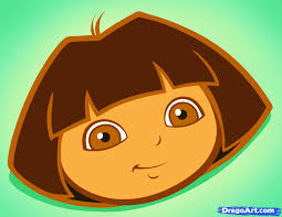 how to draw dora easy step by step nickelodeon characters