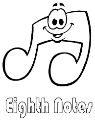 music 5 coloring pages u0026 coloring book