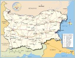 Europe Mountains Map by Political Map Of Bulgaria Nations Online Project