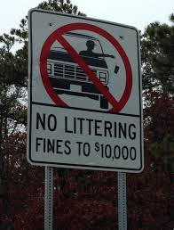 file no littering sign in cape cod jpg wikimedia commons