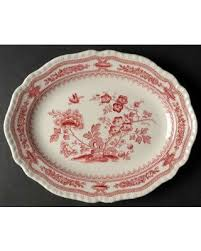 butterfly serving platter new shopping special s manchu pink 11 oval serving platter