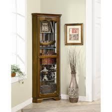 curio cabinet with light oxford black corner curio cabinet with light best cabinets decoration