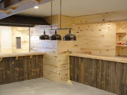 paint the distressed wood paneling best house design