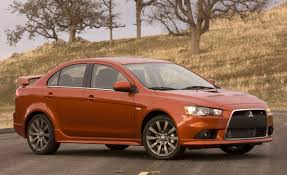 mitsubishi cars 2009 2009 mitsubishi lancer ralliart feature features car and driver