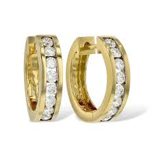 14kt gold earrings the diamond store allison kaufman 14kt gold earrings