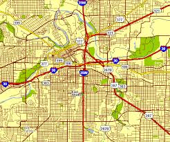 fort worth map city map of fort worth