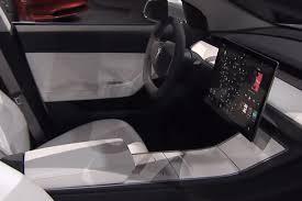 tesla model 3 interior seating tesla model 3 news prices photos specs by car magazine