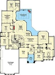 high end house plans luxury style house plans 6909 square home 2 5