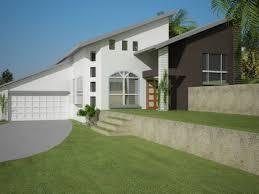 split level style house 4 bed sloping land house plan no 221 split level 4 bedroom split