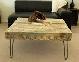 Rustic Coffee Tables With Storage - reclaimed rustic coffee tables square hardwood minimalist four