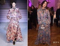 temperley london temperley london carpet fashion awards