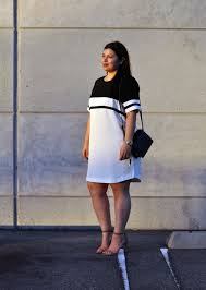 how to wear a sporty dress without looking frumpy curvyoutfits com
