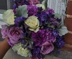 Wedding Flowers August Beautiful Purple Wedding Bouquets