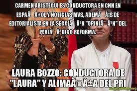 Memes Espaã Ol - carmen aristegui es conductora en cnn en espaã ol y noticias mvs