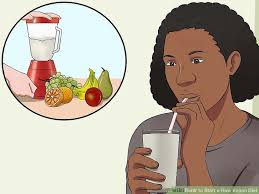 how to start a raw vegan diet with pictures wikihow